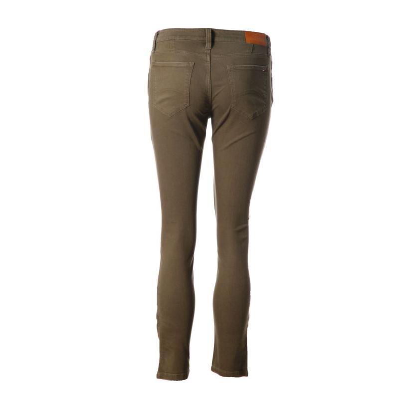 Kalhoty Tommy Hilfiger Nora Plus Pant Ld51 dusky green