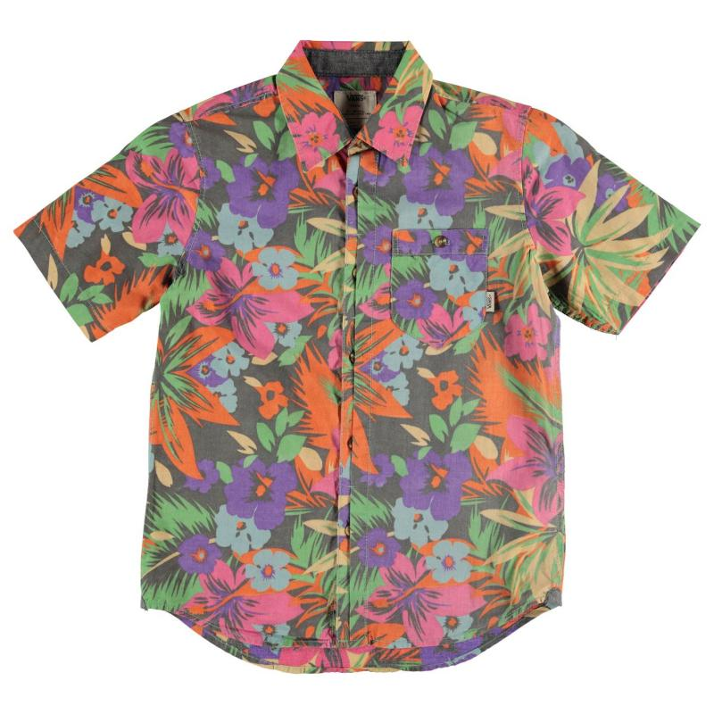 Košile Vans Cosgrove Shirt Junior Boys Gravel