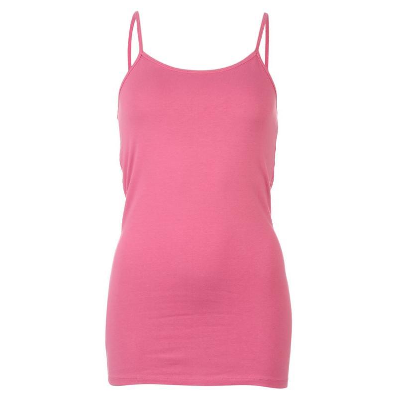 Miso Strap Vest Womens Sugar Plum Pink