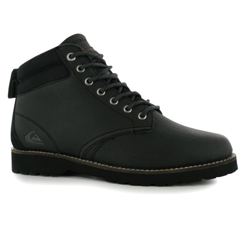 Boty Quiksilver Mission Boots Mens Black, Velikost: UK6 (euro 39)