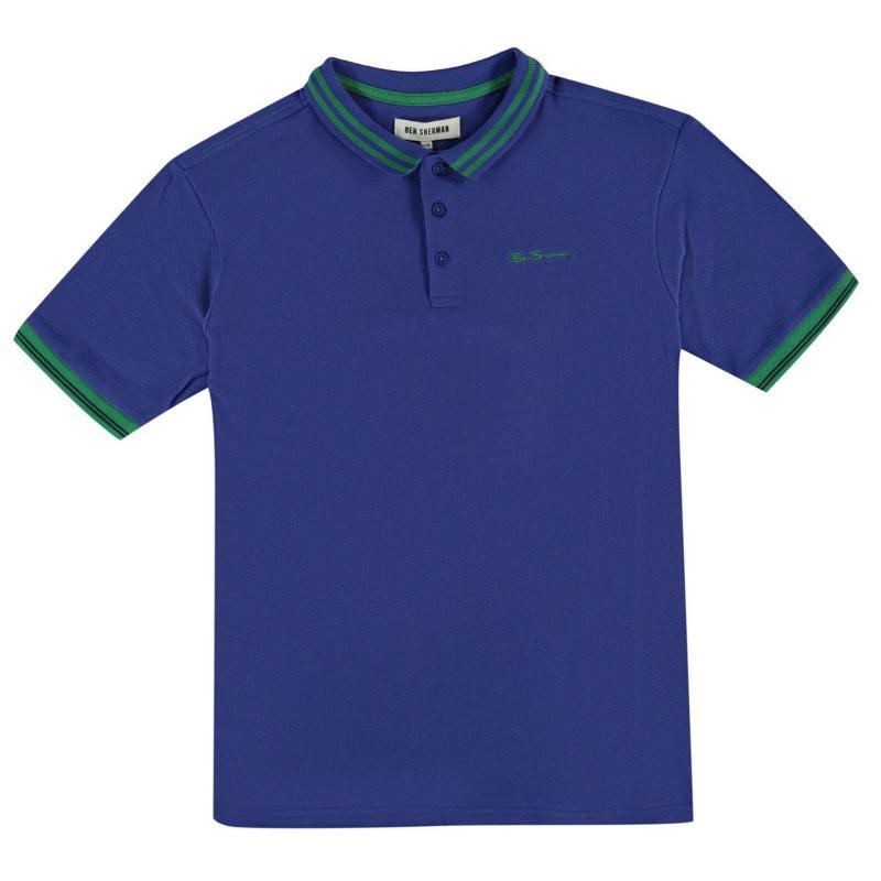 Ben Sherman 66V Polo Shirt Junior Boys Green