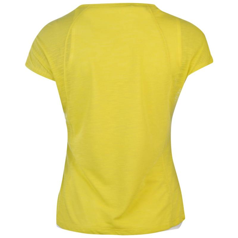 Craghoppers Pro Lite 3in1 T Shirt Ladies Yellow/White