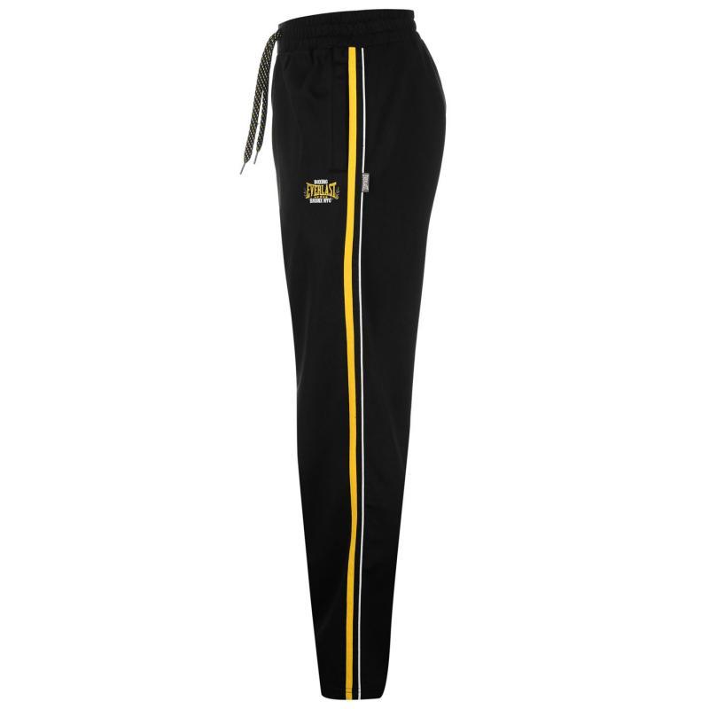 Tepláky Everlast Classic Track Pants Mens Black/Yellow