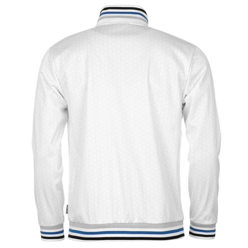 Mikina Everlast Roy Track Top Mens White/Royal