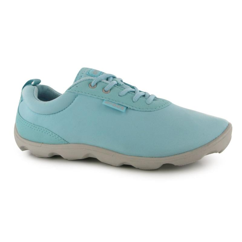 Boty Crocs Duet Busy Day Lace Ladies Shoes Ice Blue