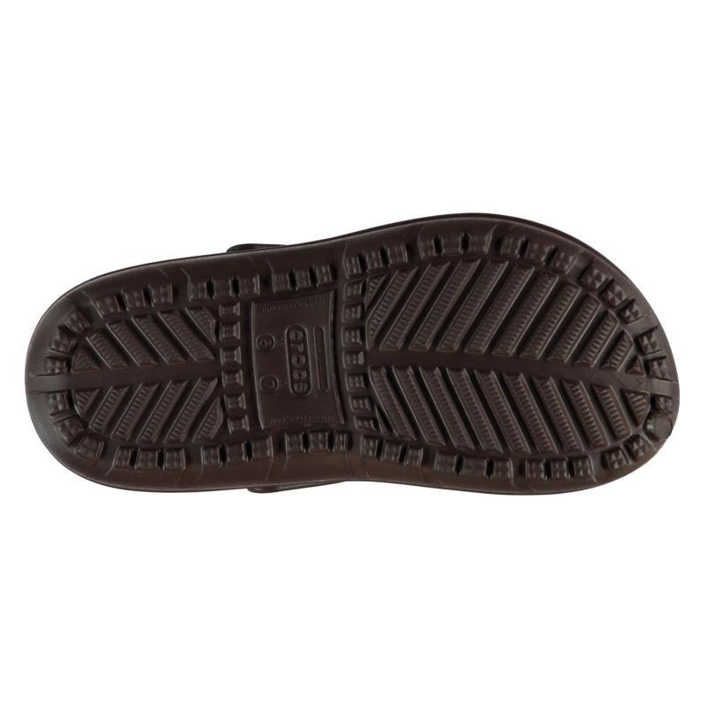 Crocs Hilo Lined Clogs Mens Mahogany