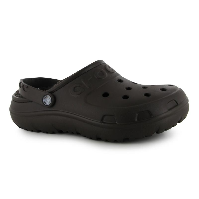 Crocs Hilo Lined Clogs Mens Navy/Ocean