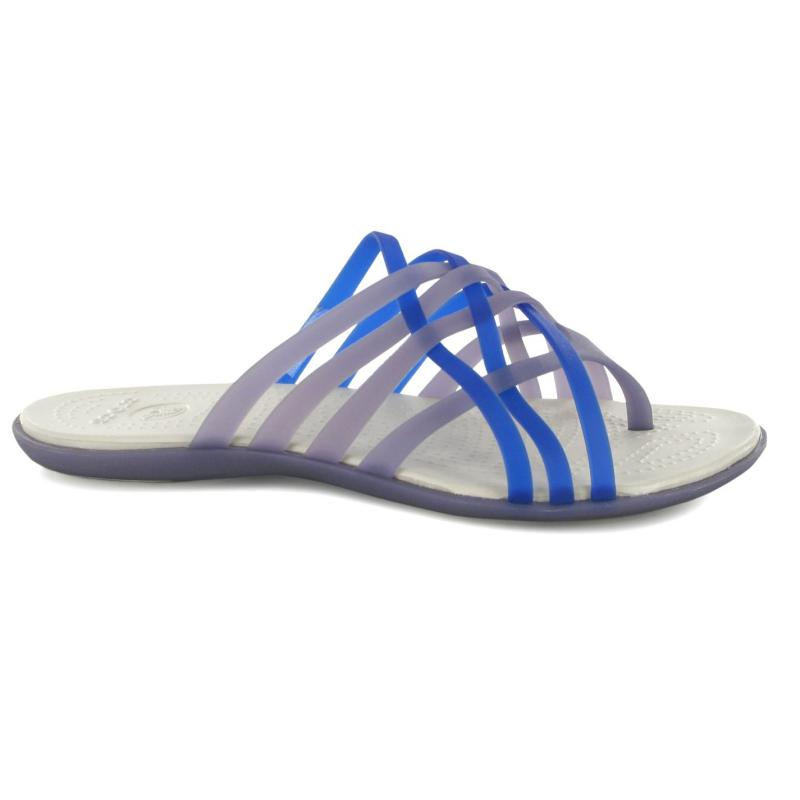 Crocs Huarache Flip Flops Girls Ocean/Oyster
