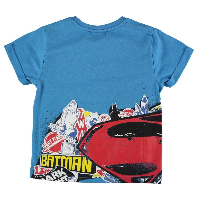 Tričko DC Comics Batman Vs Superman Tshirt Infant Boys Superman...