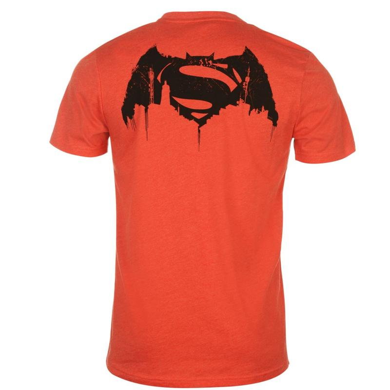 Tričko DC Comics Batman Vs Superman TShirt Mens Red