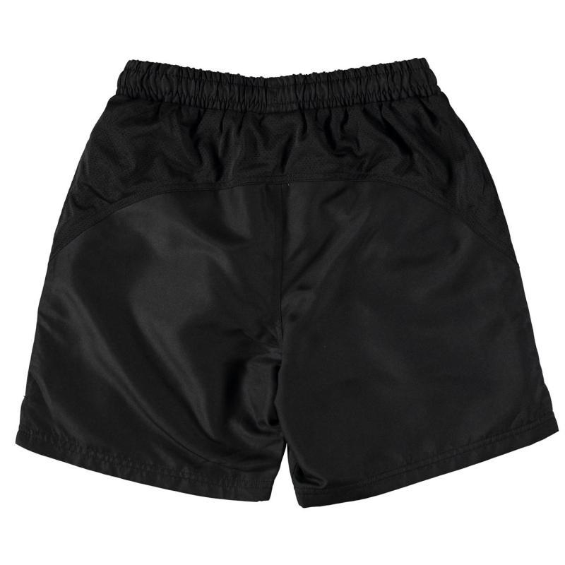 Kraťasy Dunlop Performance Tennis Shorts Junior Black