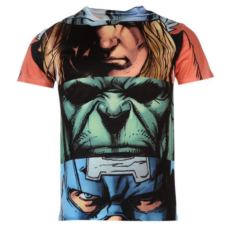 Tričko Character Sub TShirt Mens Superman