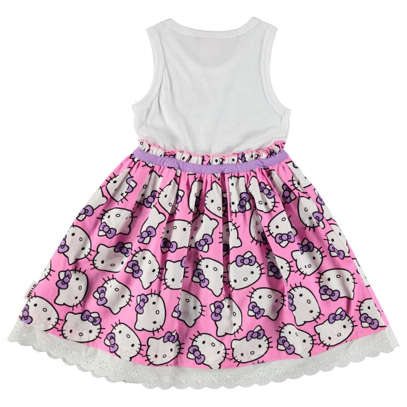 Šaty Character Woven Dress Infant Girls Hello Kitty