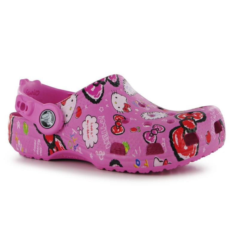 Crocs Hello Kitty Good Times Sandals Infant Girls Party Pink