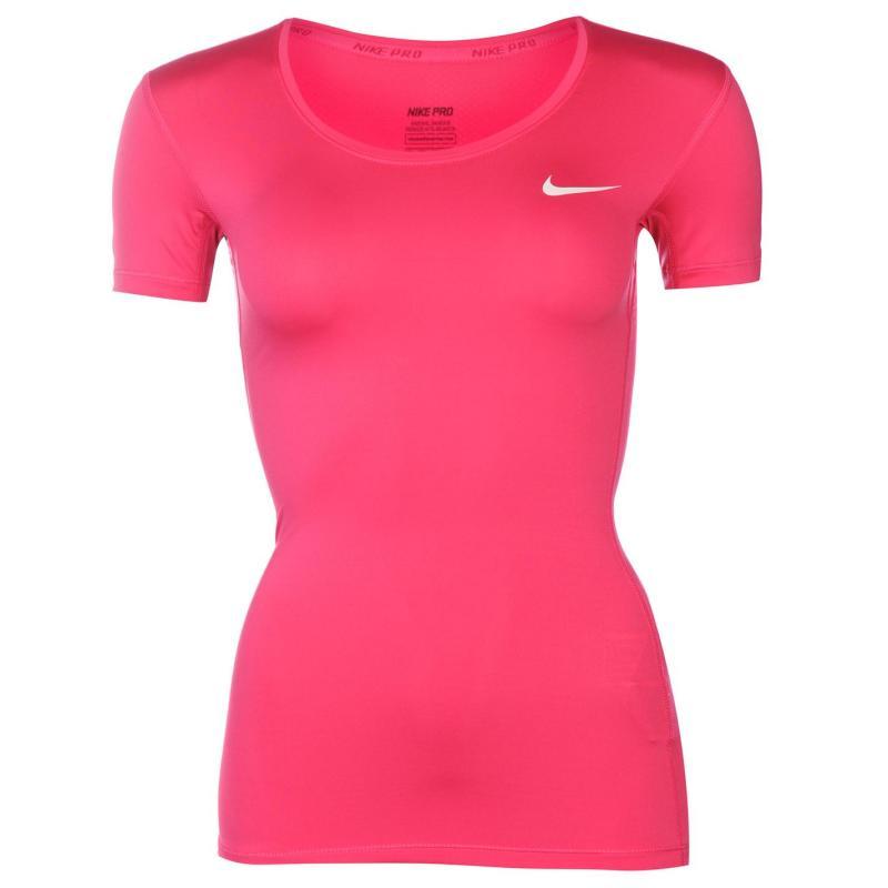 Nike Pro T Shirt Ladies Royal