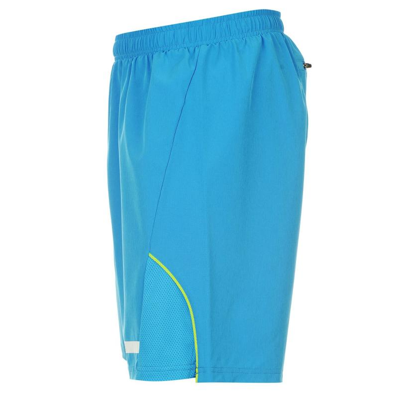 Mikina Lonsdale Woven Training Shorts Mens Royal, Velikost: S