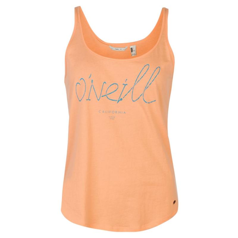 ONeill Logo Tank Top Ladies Capri Breeze
