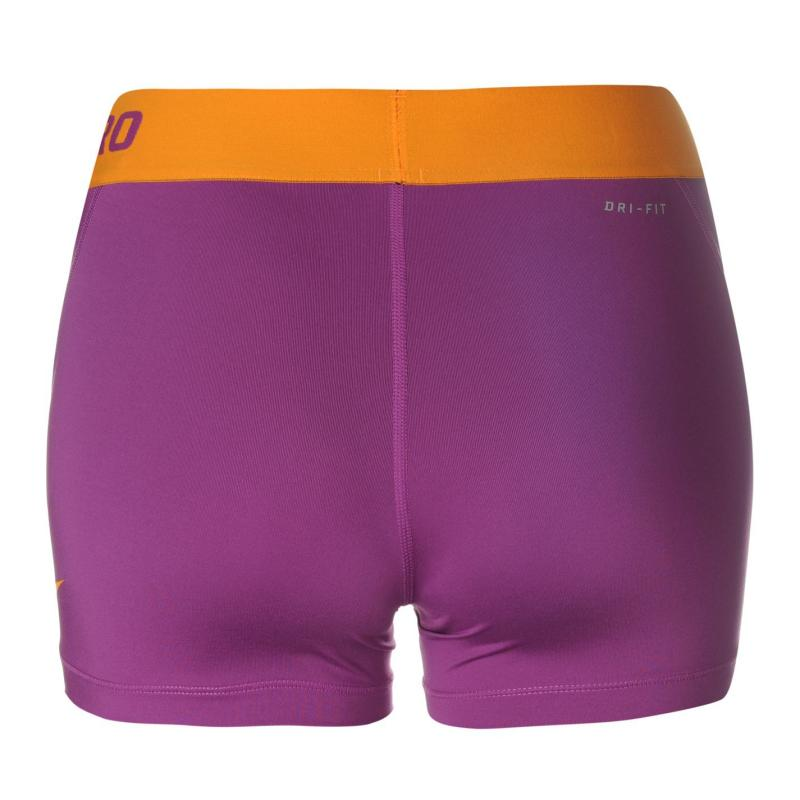 Nike Pro 3 inch Shorts Ladies Purple