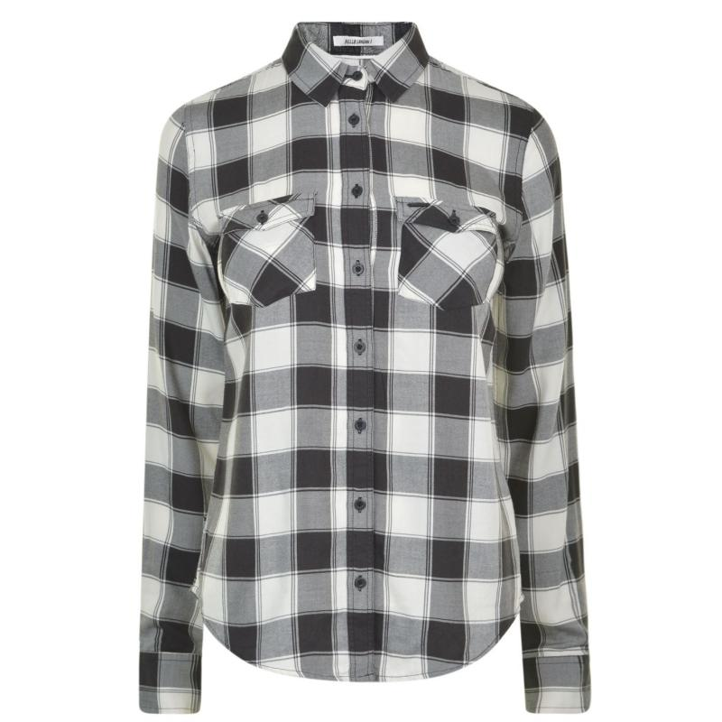 Košile Pepe Jeans Flannel Shirt White