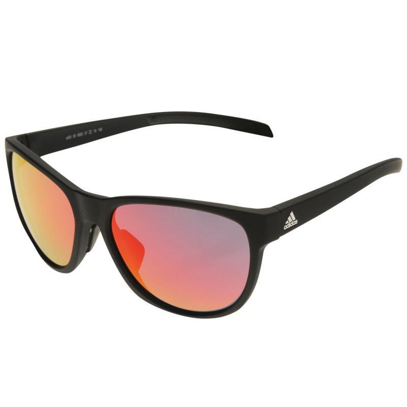 adidas Wild Mirror Sunglasses Black/Red
