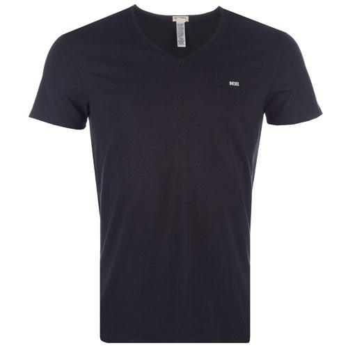 Tričko Diesel Mens Umtee-Michael T-Shirt Black