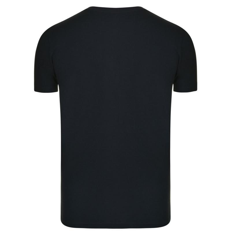 PEPE JEANS Logo T Shirt Black