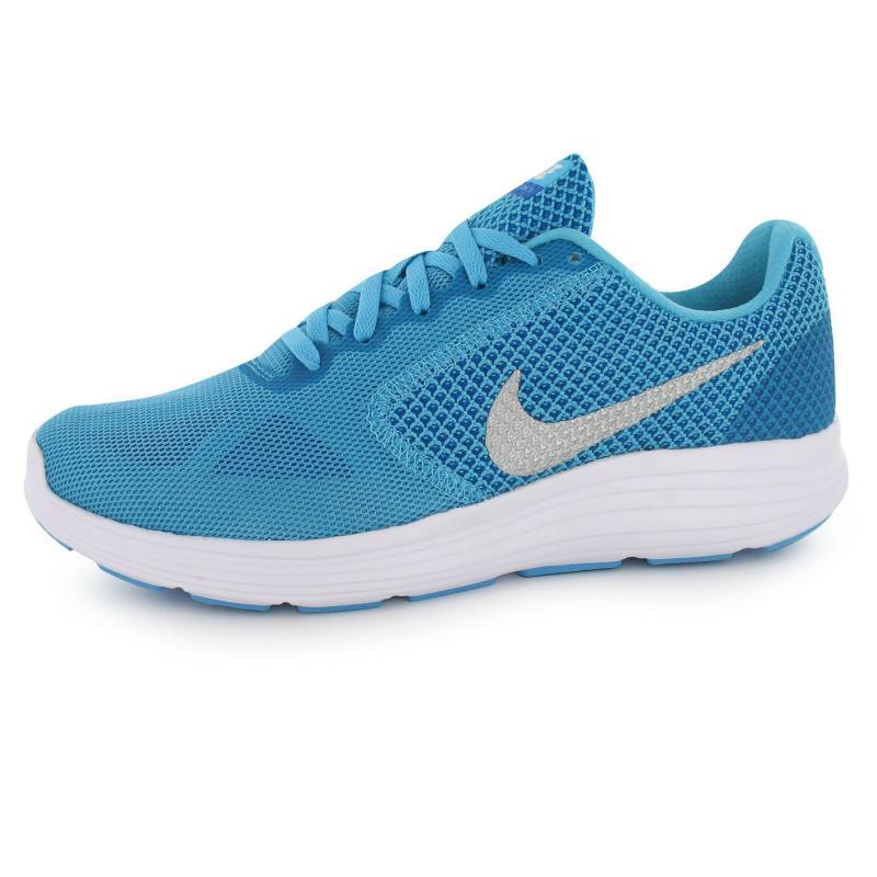 Boty Nike Revolution Ladies Blue/Silver, Velikost: UK6 (euro 39)
