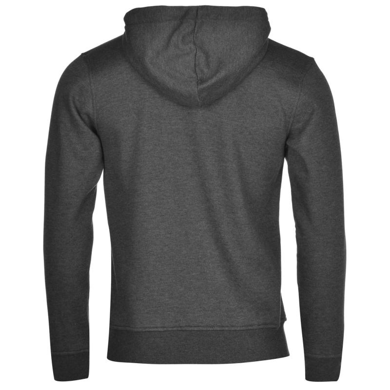 Mikina SoulCal SCCO Zipped Hoodie Charcoal Marl