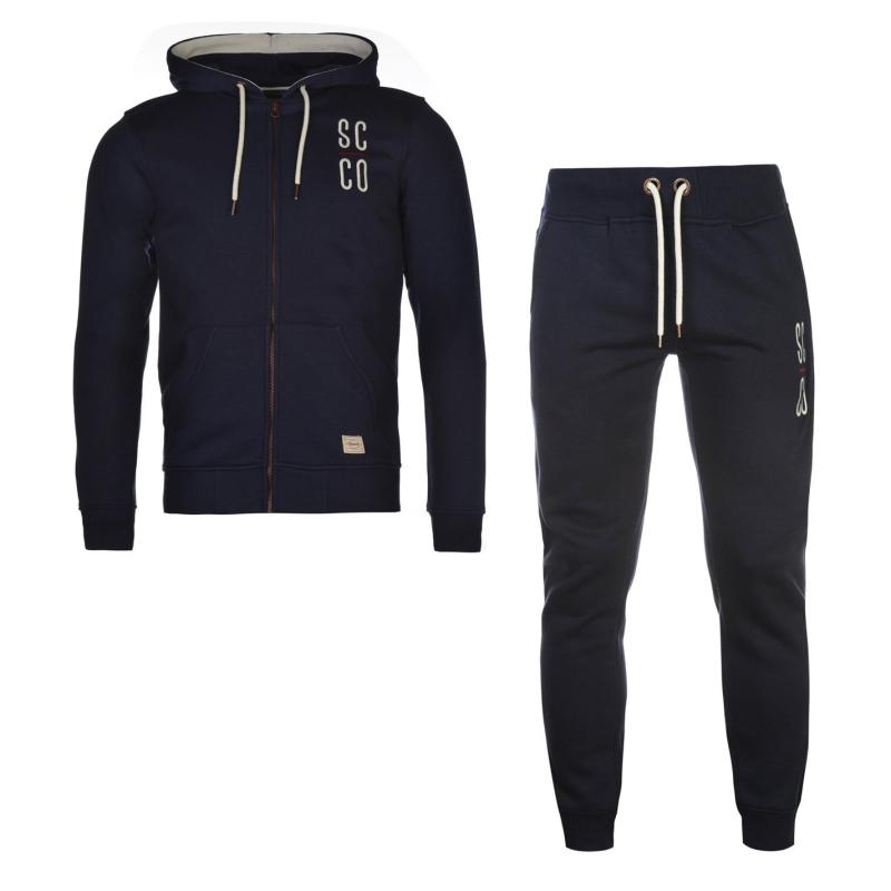 Mikina SoulCal SCCO Zipped Hoodie Navy