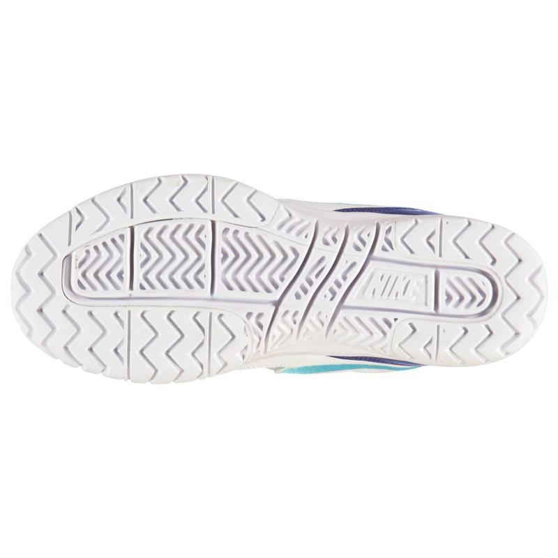 Nike Air Vapour Ace Tennis Shoes Ladies White/Blue