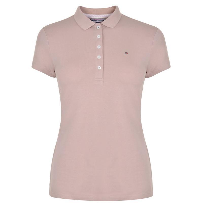 Polokošile TOMMY HILFIGER Chiarastr Polo Shirt Fawn, Velikost: 16 (XL)