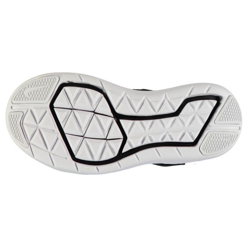 Boty Nike Flex 2016 Run Trainers Childrens Black/White, Velikost: UK1 (euro 33)