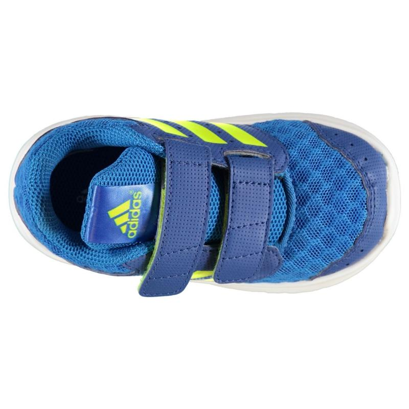 Boty adidas LK Sport Mesh Infants Trainers Blue/SolarSlime
