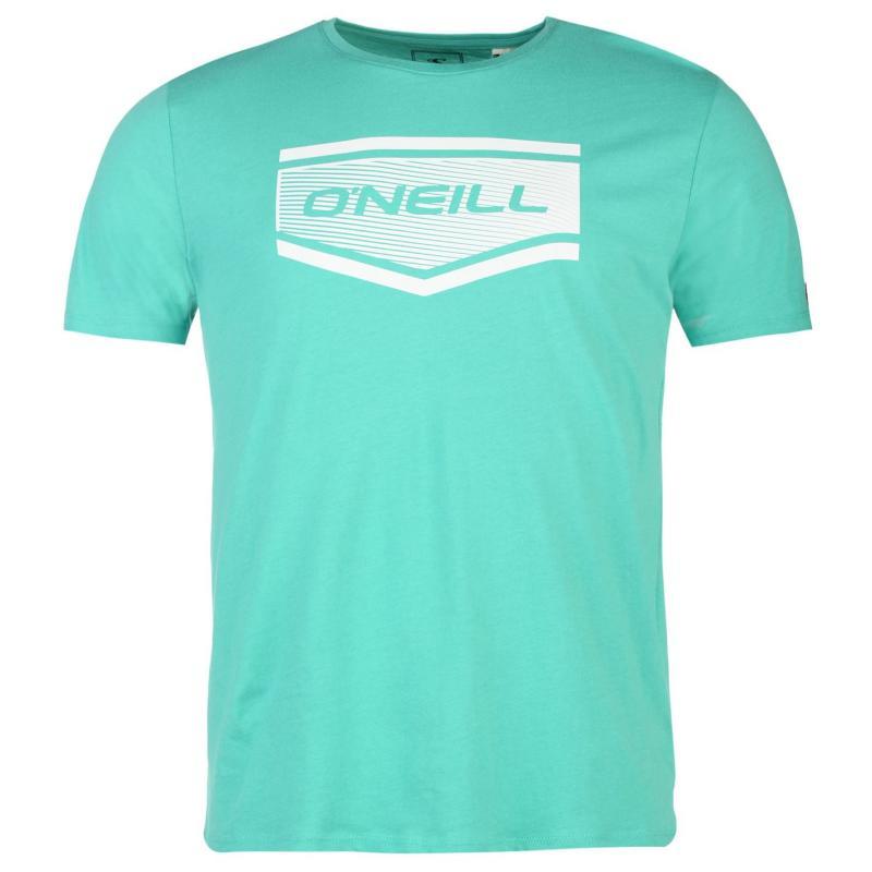 Tričko ONeill Slant T Shirt Mens Teal