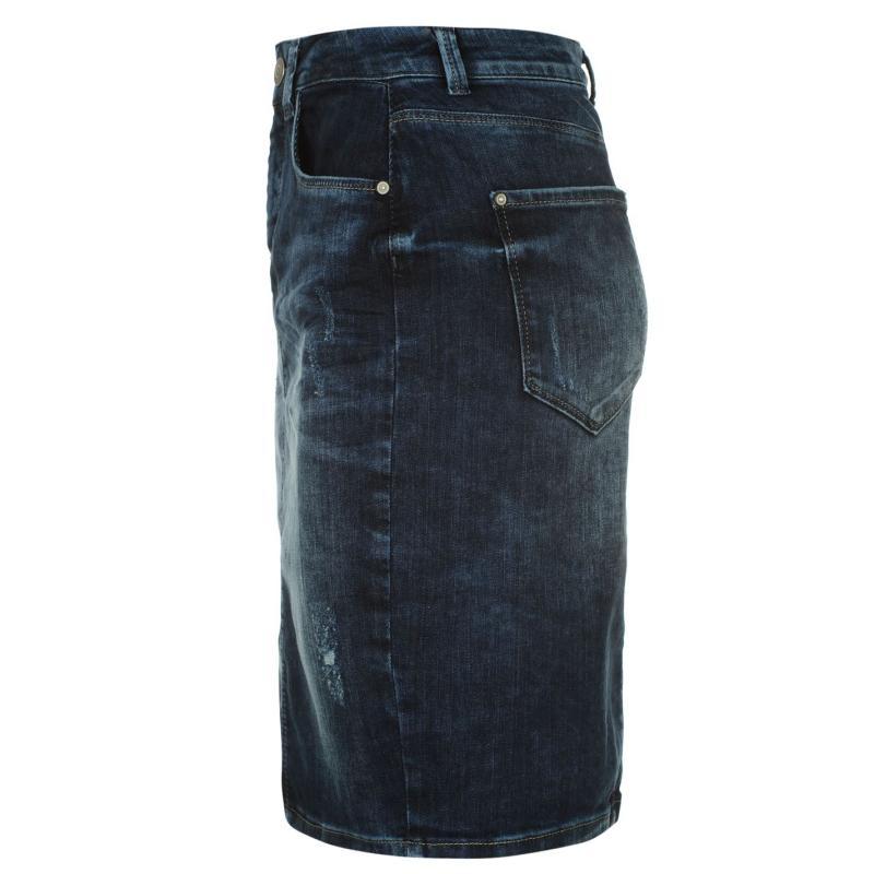 Sukně Only Tinnie Denim Skirt Med Blue Denim