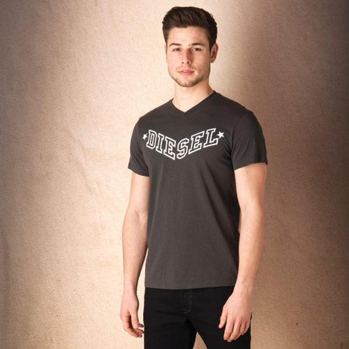 Tričko Diesel Mens T-Kritil T-Shirt 51184 Black