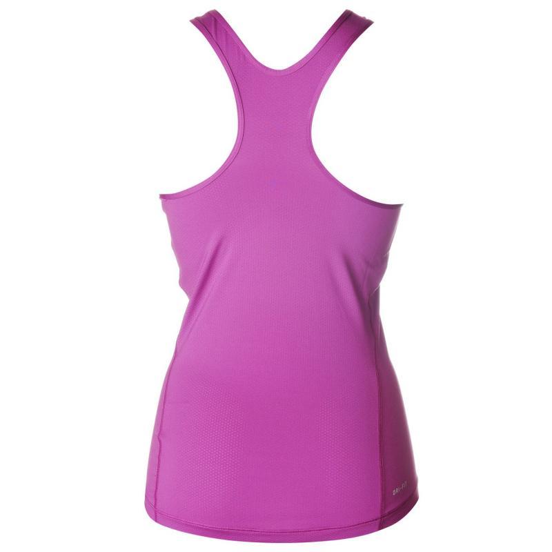 Nike Pro Graphic Tank Ladies Purple
