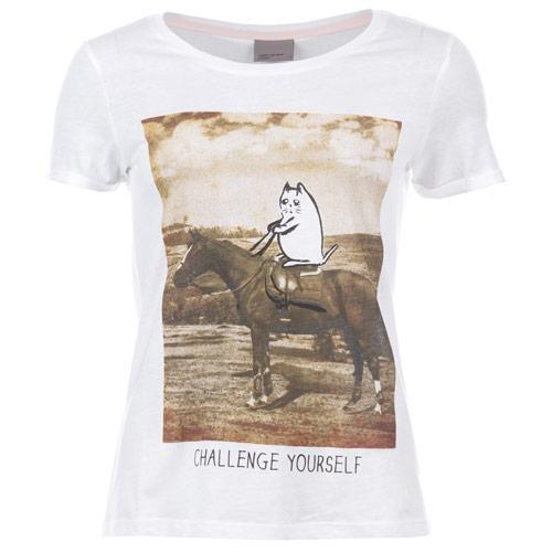 Vero Moda Womens Challenge T-Shirt White