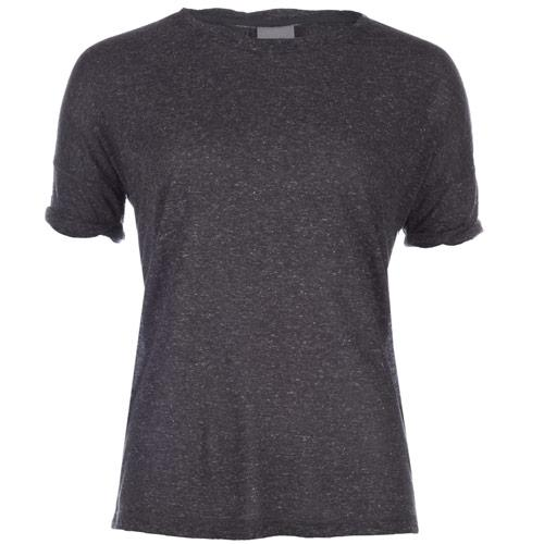 Vero Moda Womens Gillian T-Shirt Charcoal Marl