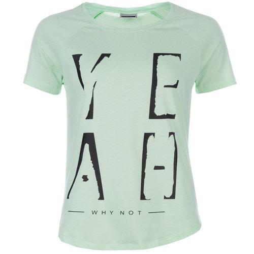 Vero Moda Womens Peter T-Shirt Green