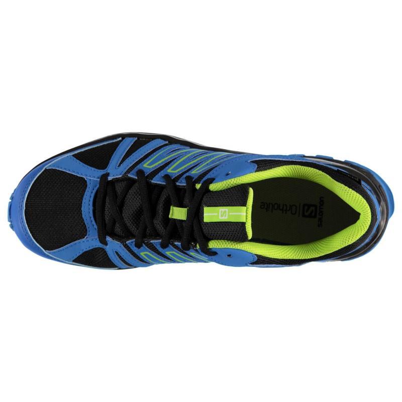 Boty Salomon XA Lander GTX Mens Trail Running Shoes Bright Blue/Grn, Velikost: UK9 (euro 43)