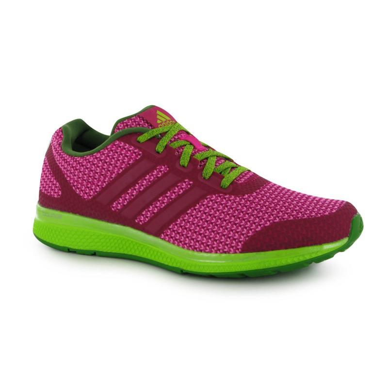 Boty adidas Mana Bounce Running Shoes Womens Pink/Pink, Velikost: UK4 (euro 37)
