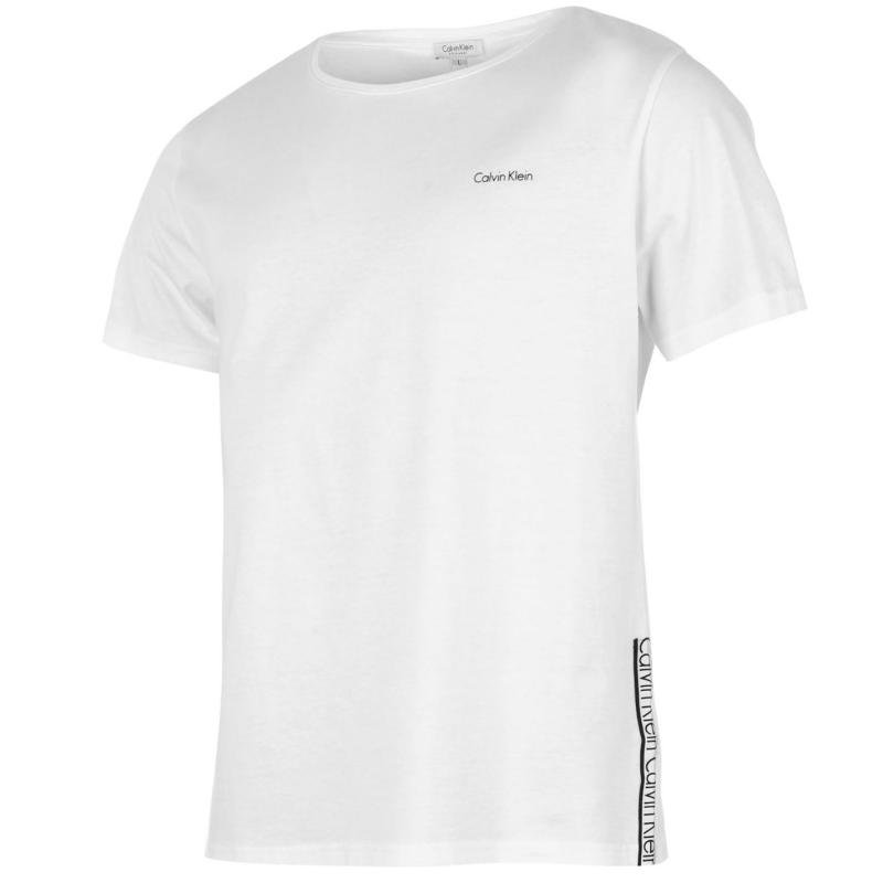 Tričko Calvin Klein Taped Crew TShirt Mens Black
