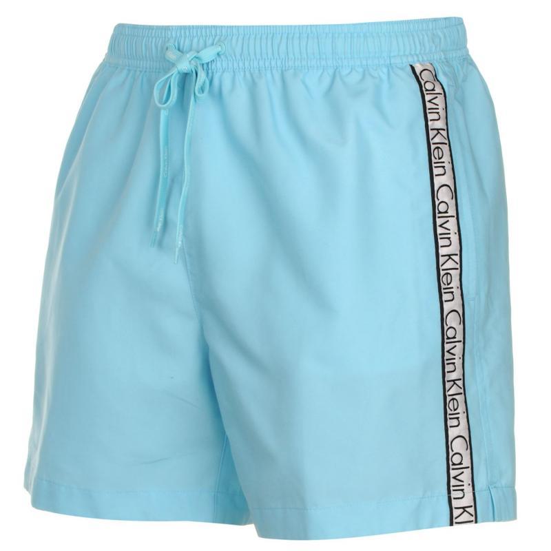 Plavky Calvin Klein Taped Drawstring Swim Shorts Mens Red