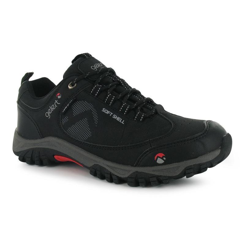 Boty Gelert Softshell Mens Walking Shoes Black