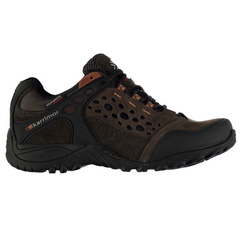 Boty Karrimor Corrie Mens Walking Shoes Brown, Velikost: 12 (M)