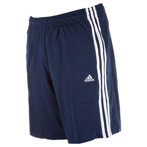 Kraťasy Adidas Mens Essentials 3S HSJ Shorts Navy-White