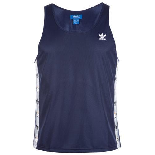 Tílko Adidas Originals Mens Nigo 25 Logo Tank Dark Blue