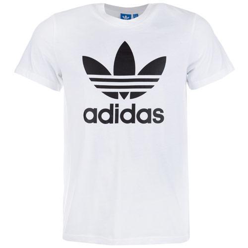 Tričko Adidas Originals Mens Trefoil T-Shirt White