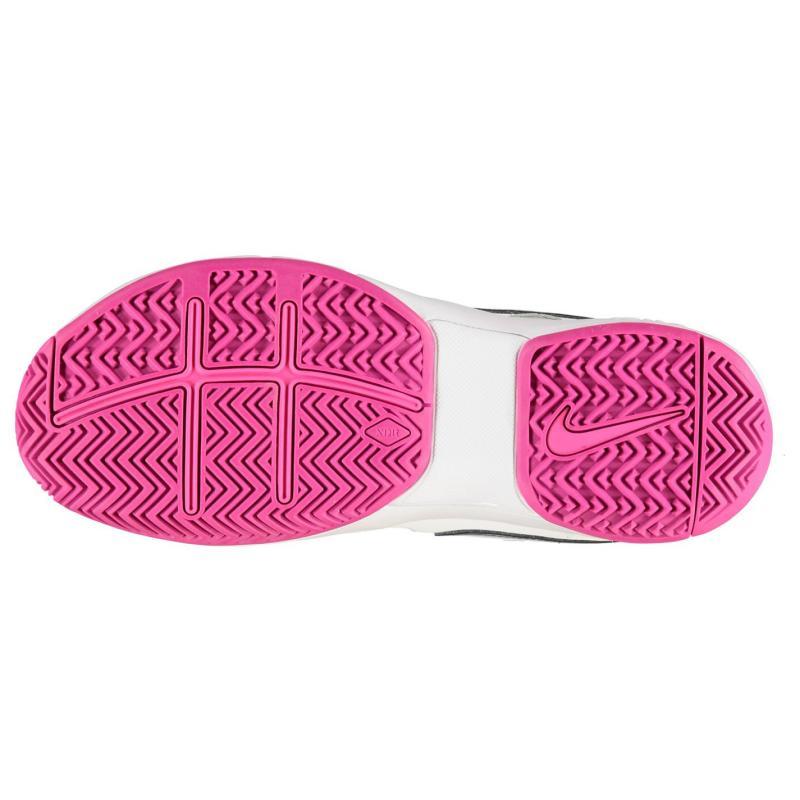 Nike Air Vapour Advantage Tennis Shoes Ladies White/DkGrey